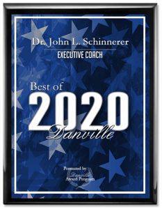 Best executive coach 2020 Dr. John Schinnerer